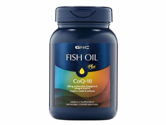 Fish Oil Plus CoQ-10