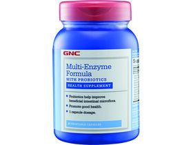 Multi-Enzyme Formula with Probiotics