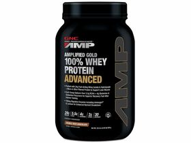 Amplified Gold 100% Whey Protein Advanced Double Rich Chocolate