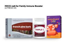 Family Immune Booster Bundle RM353 Nett [Online Exclusive]