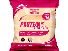 Protein Cookie Raspberry Flavoured With White Choc