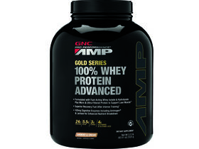 Amplified Gold 100% Whey Protein Advanced Cookies and Cream