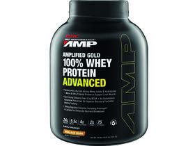 Amplified Gold 100% Whey Protein Advanced Vanilla Ice Cream